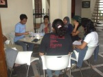 rapat evaluasi workshop